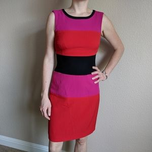 Jones New York Trip Color Dress